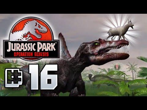 Goat God!! - Jurassic Park Operation Genesis [ Jurassic Park Month ]