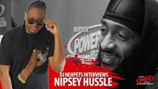 Nipsey Hussle Advice For Chicago Gang Beefs, Dr. Sebi Movie & More | @Power92Chicago