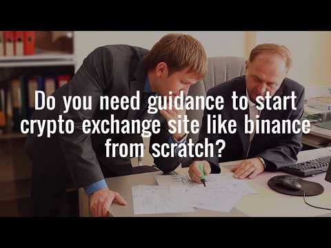 How to start a crypto exchange platform like binance?