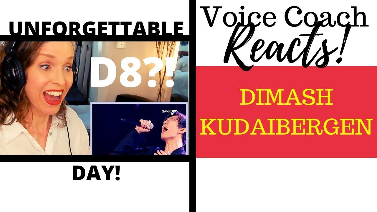 Voice Coach Reacts | Dimash Kudaibergen | UNFORGETTABLE DAY |Gakku Дауысы 2017