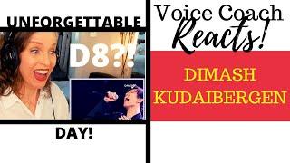 Voice Coach Reacts  Dimash Kudaibergen  UNFORGETTABLE DAY Gakku Дауысы 2017