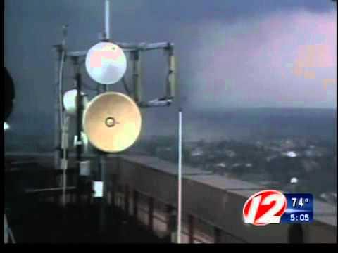 Weather alert tornado touches down in Springfield Mass