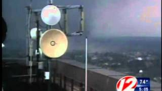 Weather alert tornado touches down in Springfield Mass