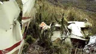 Avião caído na Serra Fina (Rebel Lands)