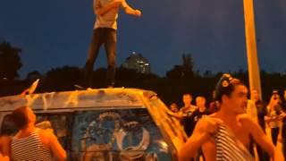 Академег попал на день ВДВ в Чебоксарах