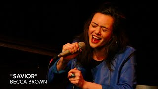 "BECCA BROWN sings ""SAVIOR"" from JENNA ROXY AND THE CHURCH OF MODERN LOVE"