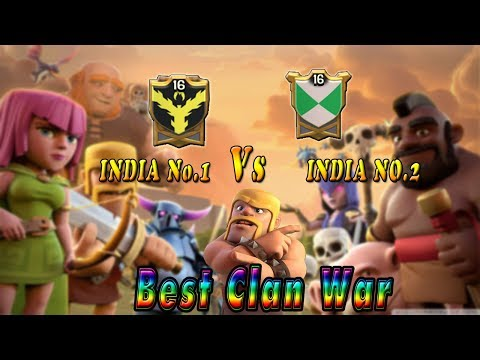 Gujarat Force Vs Immortal Beast Clan War Recap | India Vs India Best Clan War Highlight | coc