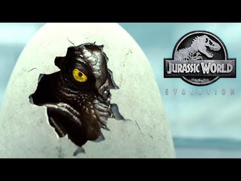 Bioengineering Dinosaurs and Park Building - Jurassic World Evolution  Trailer and News!