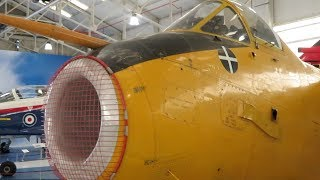 Hunting H126 at RAF Museum Cosford England - 2018