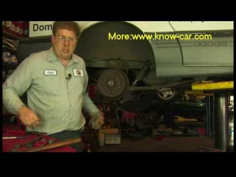 Auto repair videos: How to Adjust Wheel Bearings