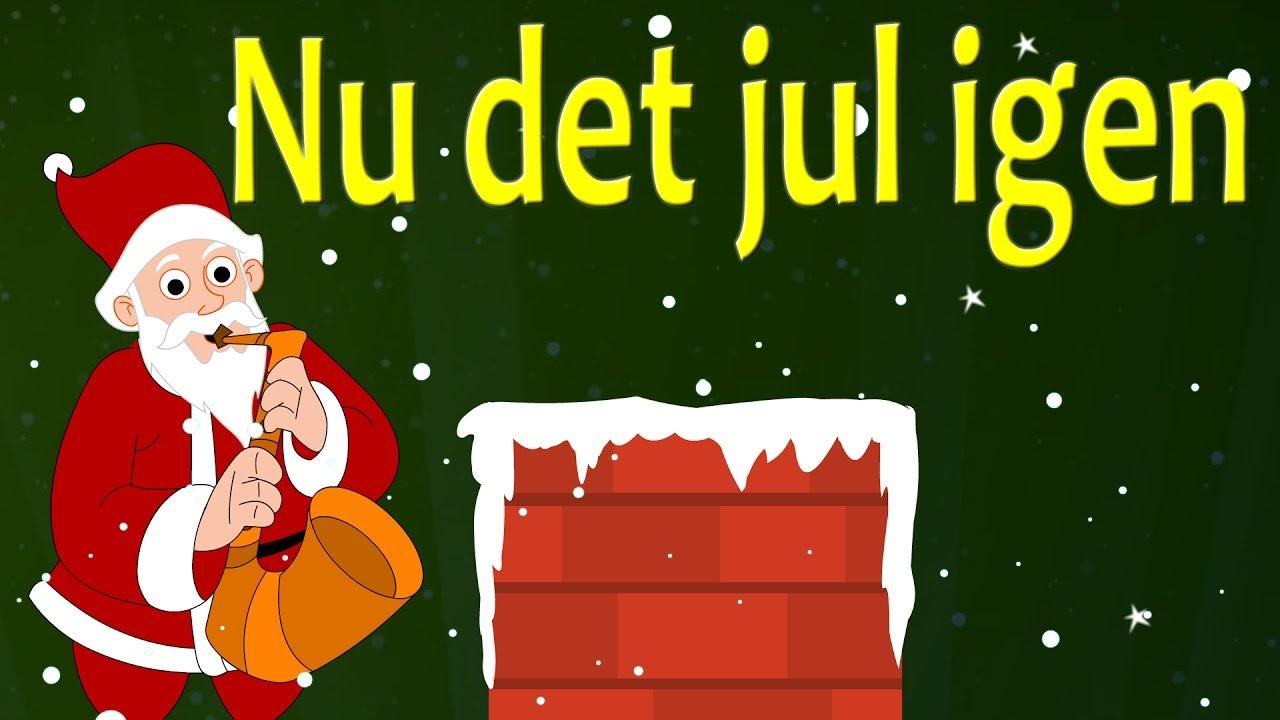 Nu det jul igen | Danske Julesange | 18 minutter af danske børn sange