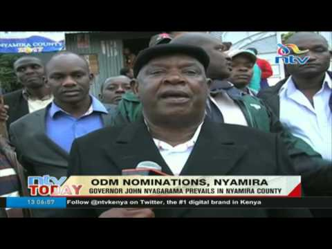 Incumbent Governor John Nyagarama prevails in ODM