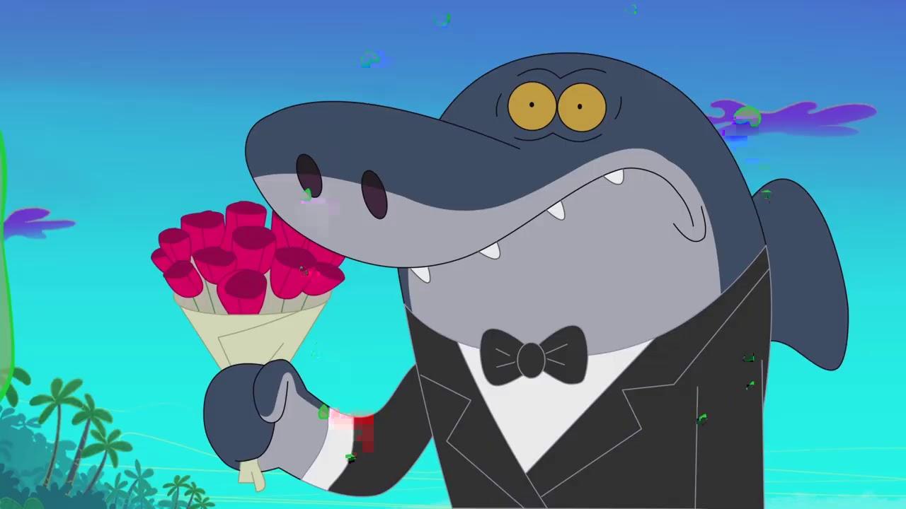 Zig & Sharko 🌺 TAKE MY ROSES MARINA 🌺 A LOVE STORY ❤️ Cartoons for Children