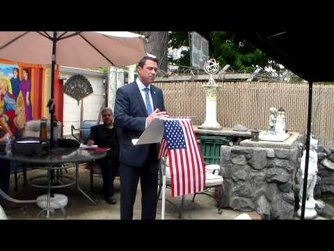 Brooklyn Tea Party Meeting 5/20/18 with Former Congressman Michael Grimm Prelude