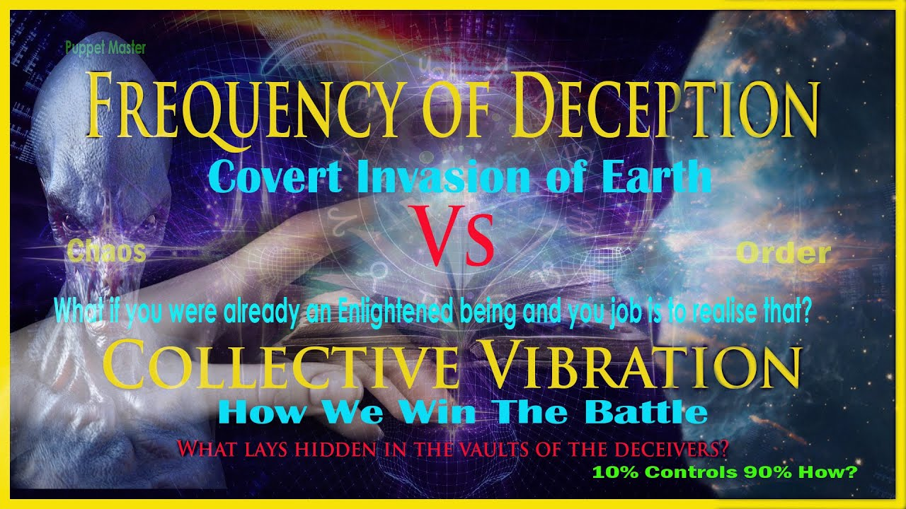 Frequency of Deception Vs Collective Vibration: The Puppet Masters