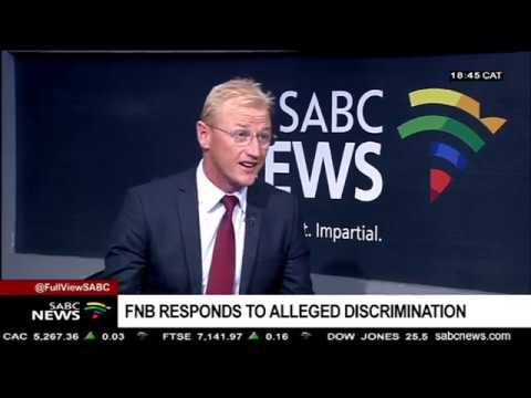 FNB's Interim Results And Alleged Discrimination: Jacques Celliers