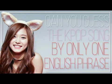 GUESS THE KPOP SONG BY AN ENGLISH PHRASE | Part 6 | KPOP Challenge | Difficulty: Medium?