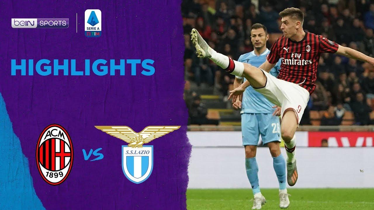 เอซี มิลาน 1-2 ลาซิโอ | เซเรีย อา ไฮไลต์ Serie A 19/20