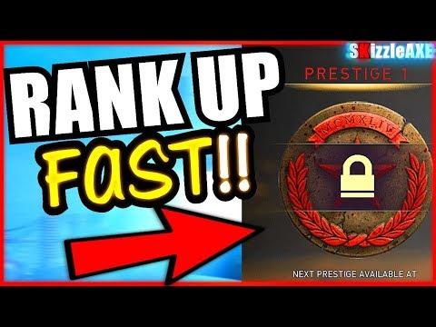 WW2 ZOMBIES HOW TO RANK UP FAST! WW2 Zombies Ranking System Prestige! (Level Up Fast in COD WW2)