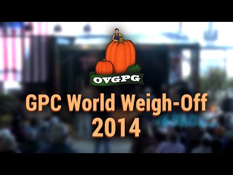 OVGPG | GPC World Weigh-Off 2014