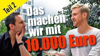 So investieren wir 10.000 Euro in Aktien – Teil 2 // Mission Money