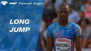 Luvo Manyonga wins the Men