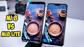 Xiaomi Mi8 VS Xiaomi Mi8 Lite отличия и опыт использования