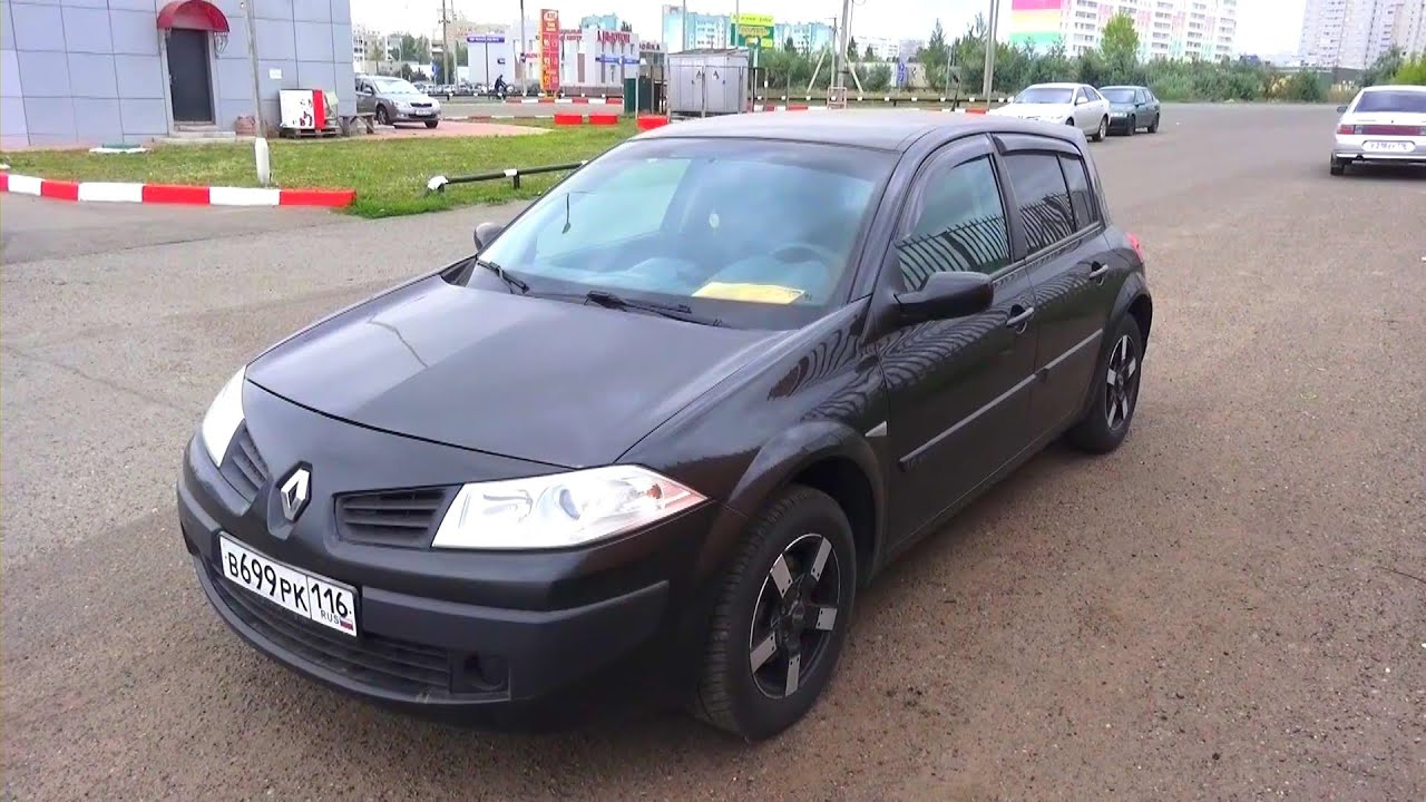 2006 renault megane 2 hatchback start up engine and in depth tour youtube. Black Bedroom Furniture Sets. Home Design Ideas