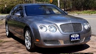 Bentley Flying Spur W12 Test Drive Real Car Overview