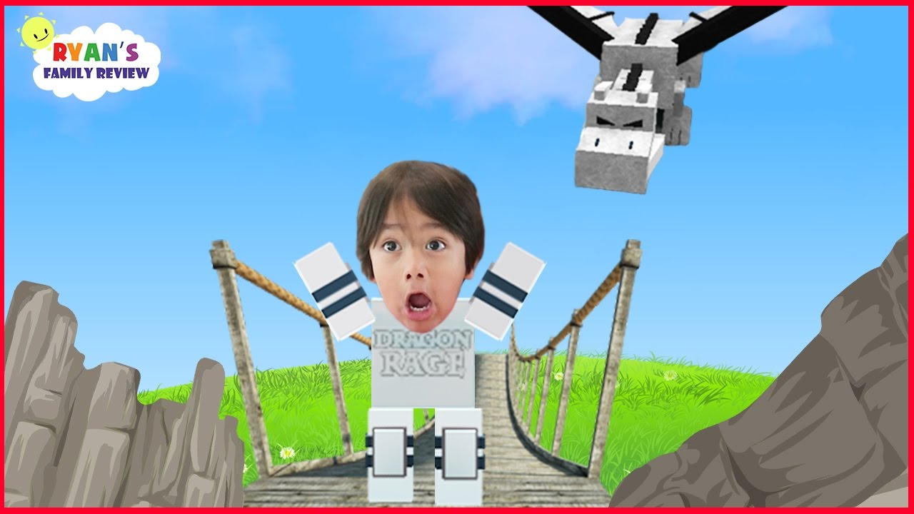 Family Game Night Let S Play Roblox Dragon Rage With Ryan S