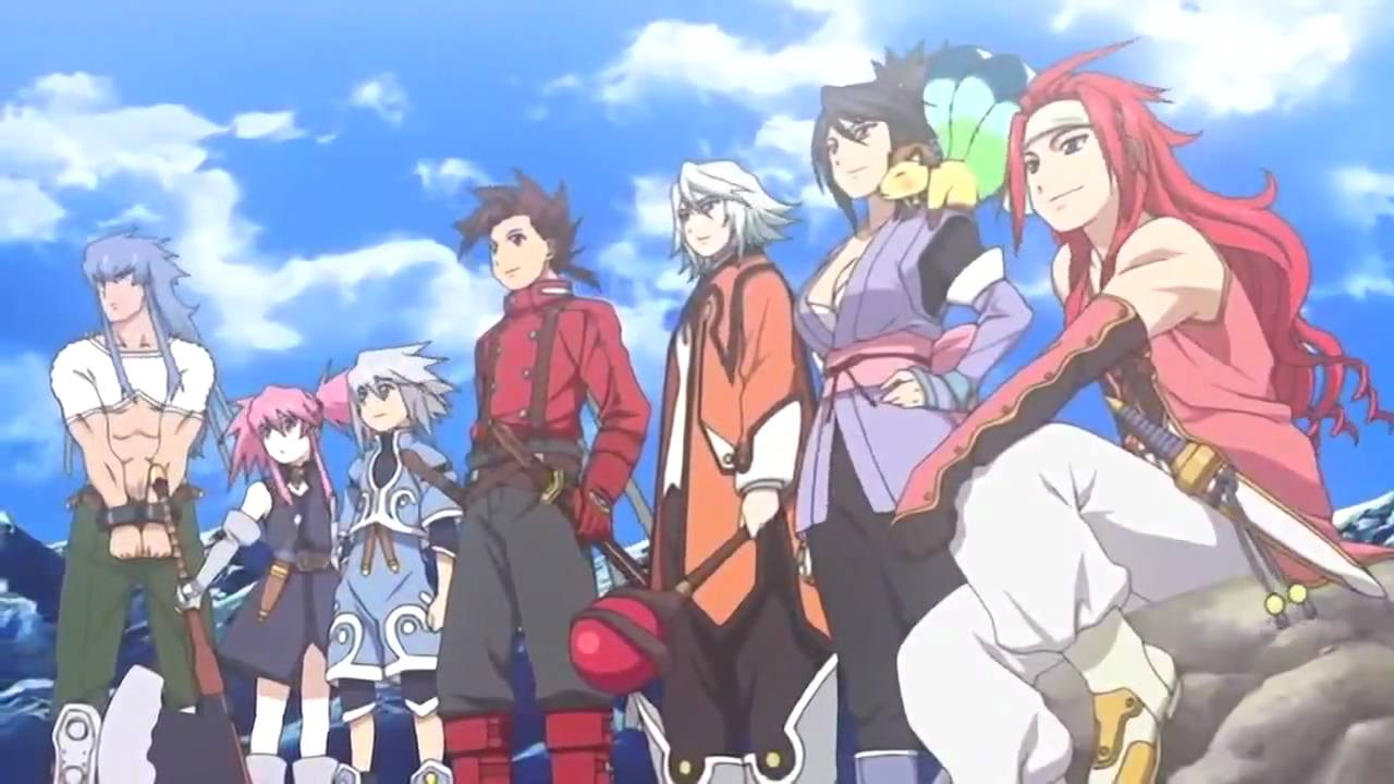 Tales of Symphonia (Oav)-- Teth. Opening [HD] - YouTube