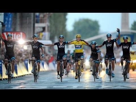 Tour De France 2013 Winner Chris Froome Cycling Is Now The World S Cleanest Sport Youtube