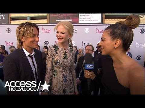 ACM Awards: Keith Urban & Nicole Kidman Share Their Daughters' Touching Message To Daddy