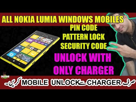 All Nokia Lumia   Windows Mobiles   Unlock With Charger Only   Lahoriye