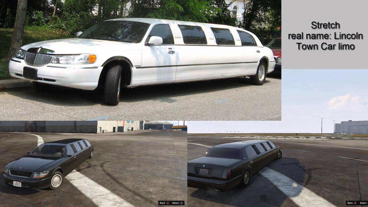 gta 5 real cars names youtube