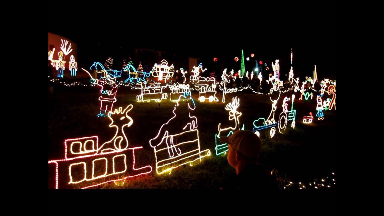 Marble Falls Christmas Lights.Christmas Lights At Marble Falls Tx