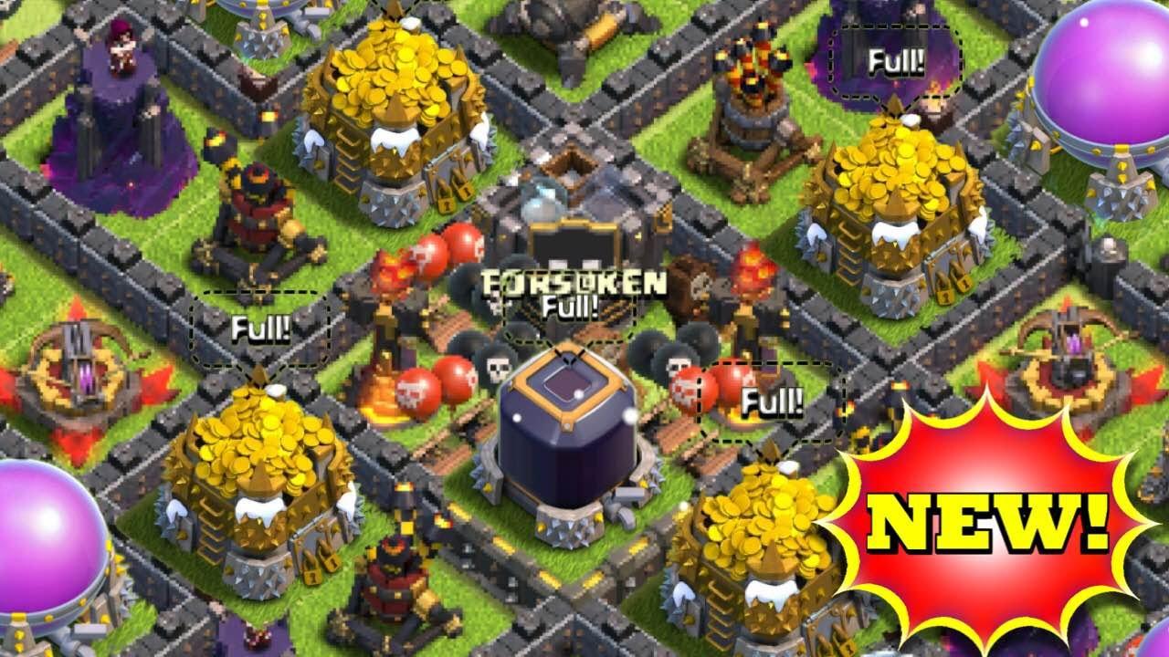 Epic town hall 10 dark elixir farming base protect de th10 speed