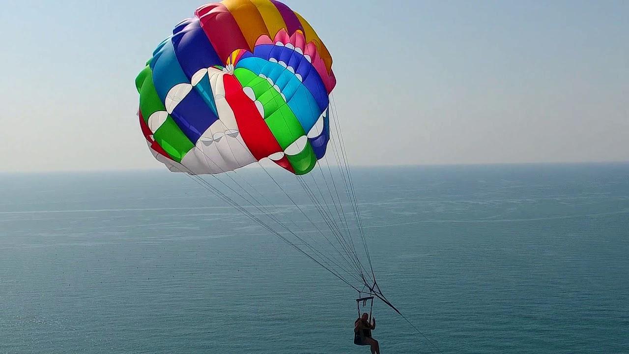 Фото парашютов в море адлер помощью сервиса