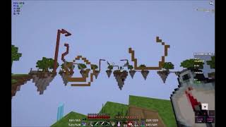Eine kurtze Runde Minecraft SkyWars