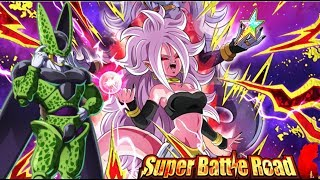 WHAT IS THIS RNG?! EXTREME ANDROID TEAM vs Super Battle Road: DBZ DOkkan Battle