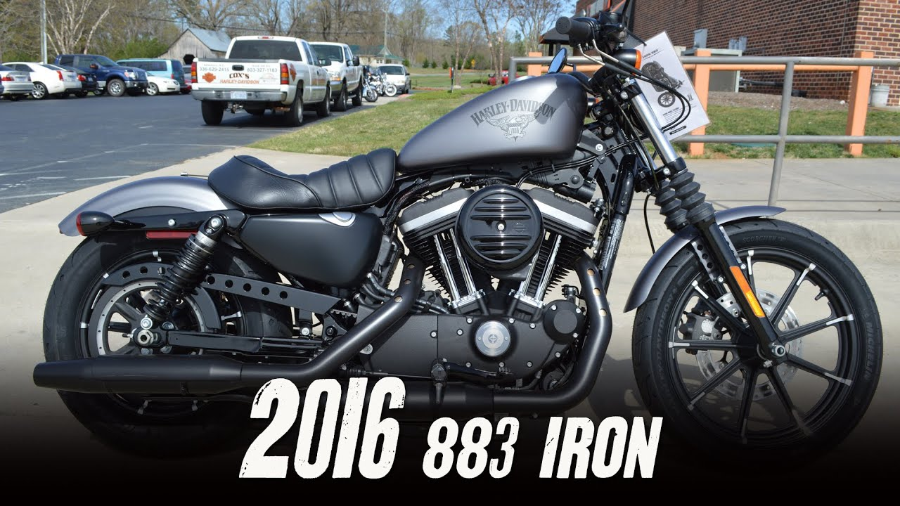 Sportster Iron 2016 >> SOLD! 2016 Harley-Davidson® XL883N - Sportster® Iron 883™ Charcoal Denim - YouTube