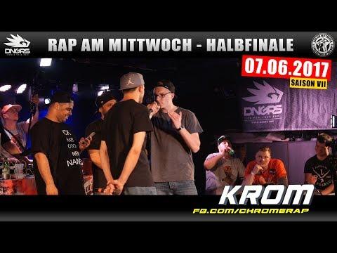 RAP AM MITTWOCH BERLIN: 07.06.17 Halbfinale feat. KROM, MIGHTY P. uvm. (3/4)