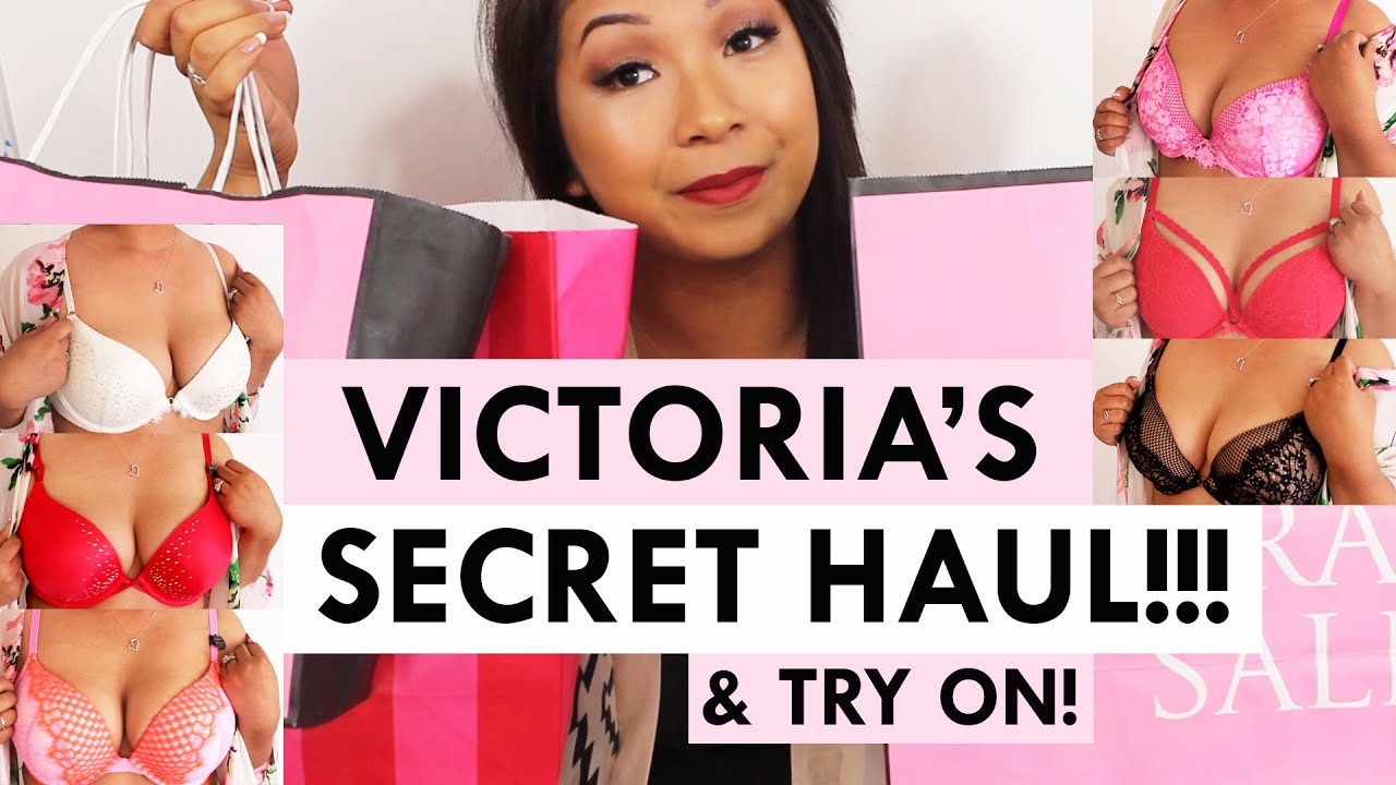 a67fab57e VICTORIA S SECRET HAUL!!! BRAS   THONGS + TRY ON!