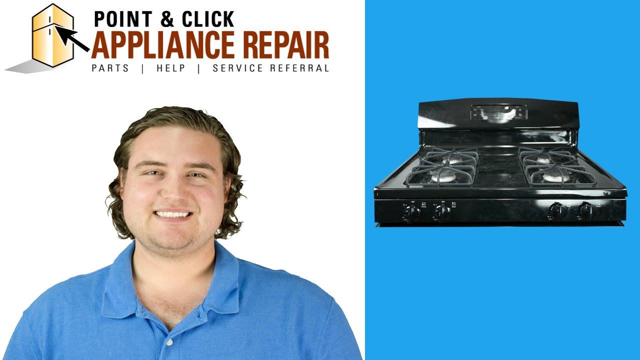 Gas Range Repair Service Most Common Gas Range Repairs Youtube