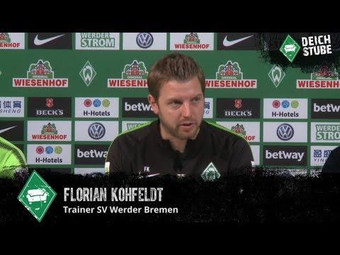 Werder-Pressekonferenz vor dem Spiel gegen Bayer Leverkusen