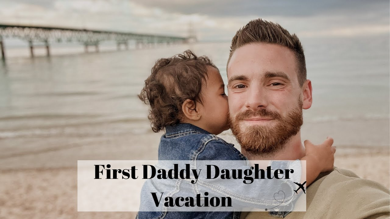 First Time Taking Aza On A Trip ALONE!! | First Daddy Daughter Vacay!