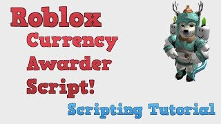 Roblox Tutorial! Award Currency Script!