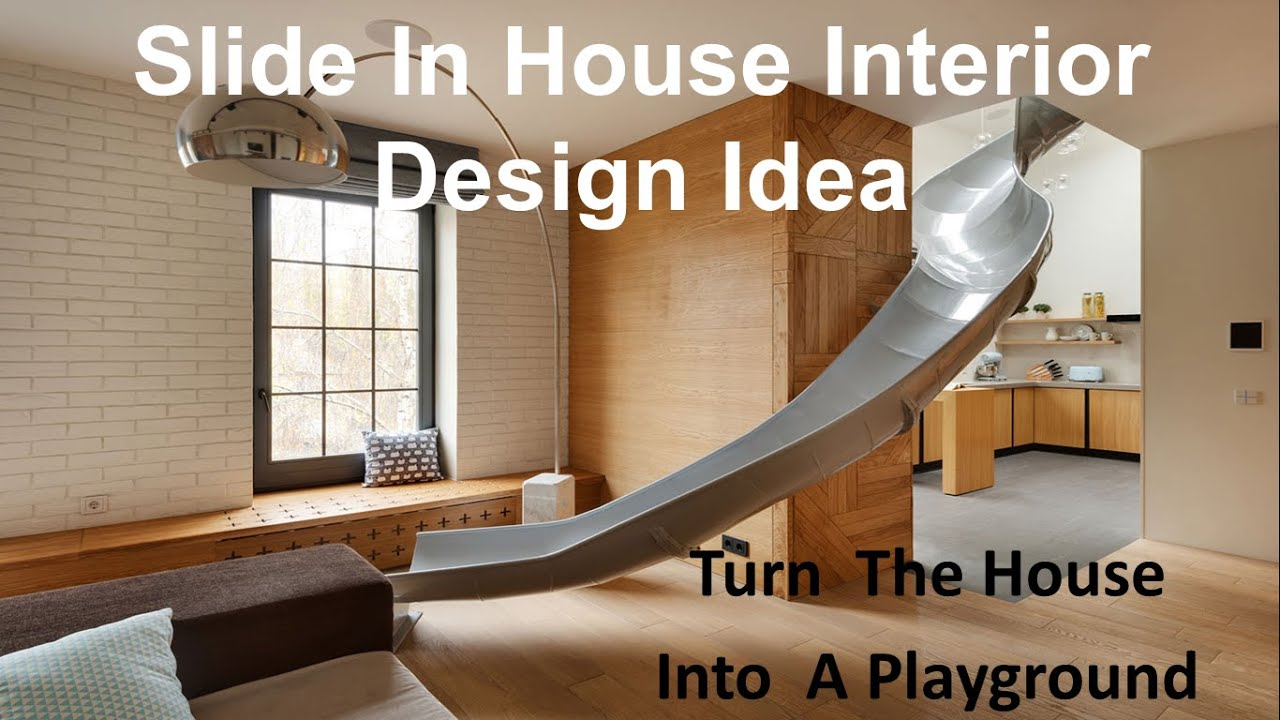 Cool Slide In House Interior Design Idea   YouTube Part 37