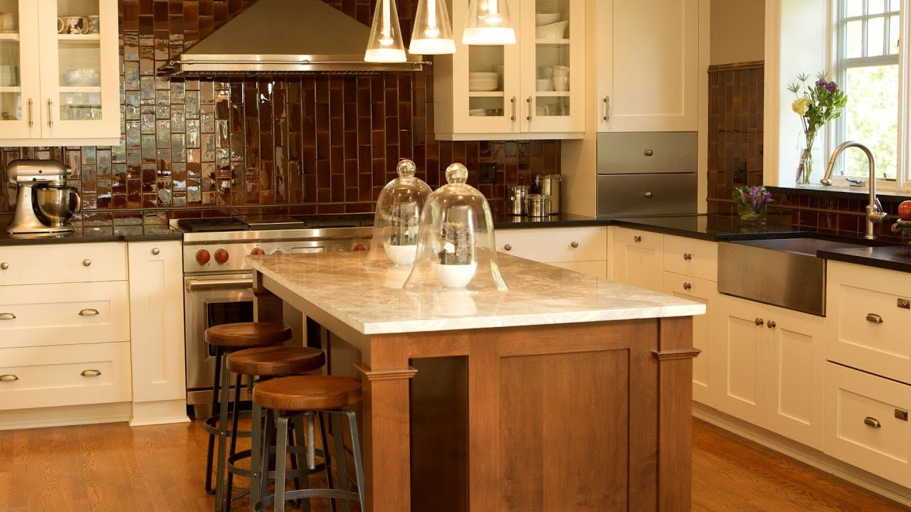How to decorate your kitchen interior design youtube - Kitchen counter decoration ...