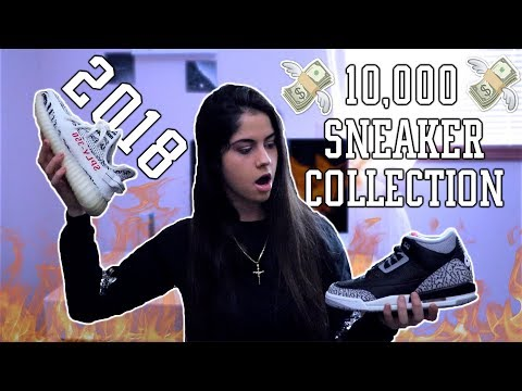 MY SNEAKER COLLECTION (2018) 🔥MUST WATCH 🔥| Ayeitstanisha